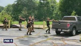 Coweta County deputies perform live-action training for active shooter scenarios