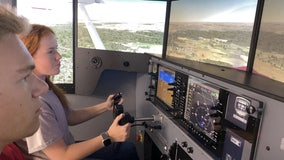 High school students get flight simulator training in Fayette County
