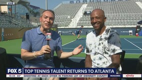 Top tennis talent takes over Atlantic Station