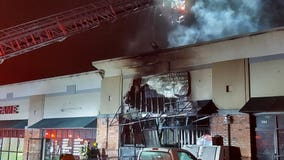 Fire guts business in Buford Highway strip mall