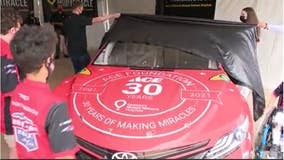CHOA patients become NASCAR driver's honorary pit crew