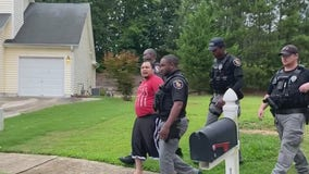 Exclusive video: Fairburn police arrest man accused of killing his own brother