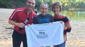 Metro Atlanta mom honors daughter through ambitious swim tour