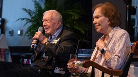 Jimmy Carter, Rosalynn celebrate 75 years of marriage in hometown