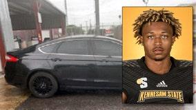 Sheriff: Car used to gun down KSU quarterback found, reward doubles