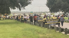 Activists embark on voting rights march across Central Texas