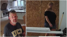 Couple caught on camera creeping through Sandy Springs home, police say