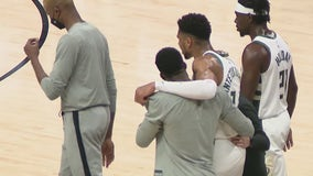 Giannis Antetokounmpo ruled out, Trae Young to play for East Game 6