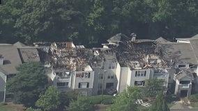 Fire destroys Milton apartment complex, displaces 30 families, officials say