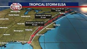 How Tropical Storm Elsa will impact Georgia