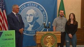 Washington state vaccine lottery: King County mechanic wins $1M grand prize