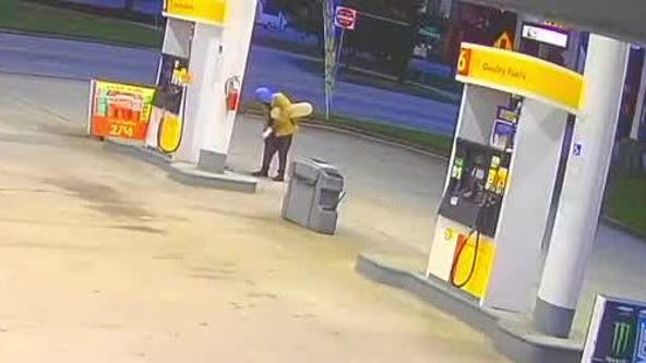 Investigators: Arsonists tries to set fire to gas pump in DeKalb County