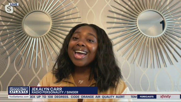 Radio personality Jekalyn Carr's tips for personal growth
