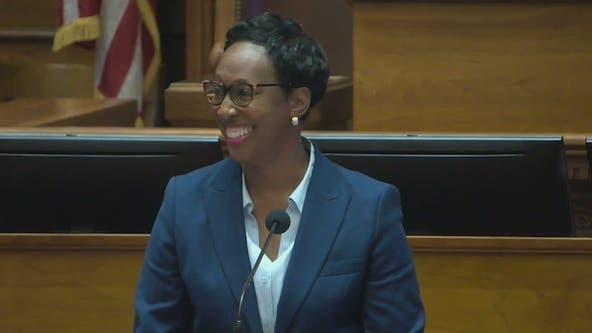 Kemp swears in new justice to Georgia Supreme Court