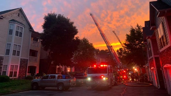 Weather may have sparked Milton apartment blaze, firefighters say
