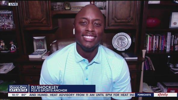 Welcome DJ Shockley to FOX 5 Atlanta