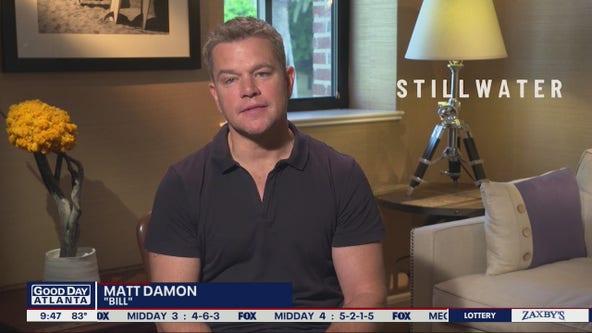 Matt Damon on his new dramatic film 'Stillwater'