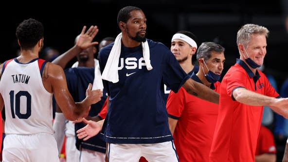US men's basketball advances to knockout round with win over Czech Republic