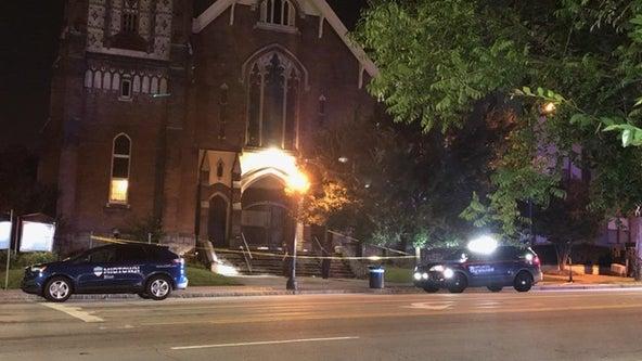 Police: Homeless man shot on Atlanta church steps
