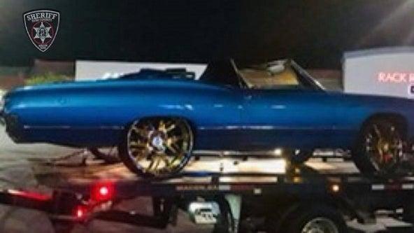 Deputies in Bibb County break up large illegal car meet