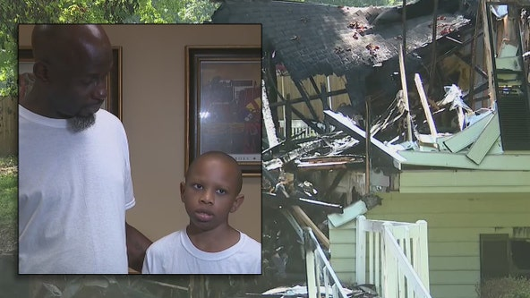 Douglas County fire chief honors 11-year-old hero