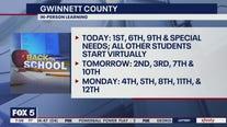 Gwinnett County students returning to school amid mask debate