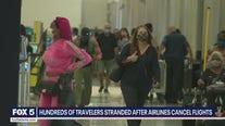 Hundreds of flights canceled