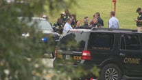 Fleeing FBI suspect shot, eventually caught after chase, police say