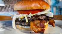 Atlanta restaurant's Tower of Power Burger is worth the mess