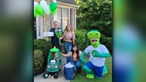3-year-old leukemia patient and Publix superfan surprised with his very own 'Publix car'