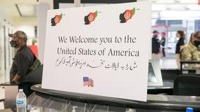 Over 500 Afghan refugees arrive at Philadelphia International Airport