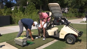 Adaptive golf becomes therapy for local college student