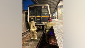 Man rescued after being trapped under catwalk at MARTA station, firefighters say