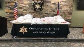 Sheriff: Hundreds of kilograms of meth seized in Georgia investigation