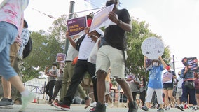 Atlanta activists join nation in march to demand federal election reform