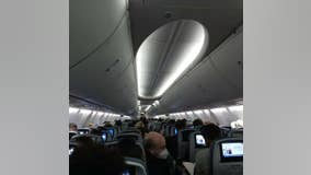 Panic on planes after images are AirDropped to passengers