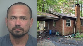 Man charged with arson after house in Lilburn