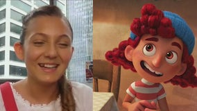 """Young actress talks role in Disney and Pixar's """"Luca"""""""