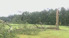 EF-1 tornado hit Banks County on Tuesday, NWS confirms