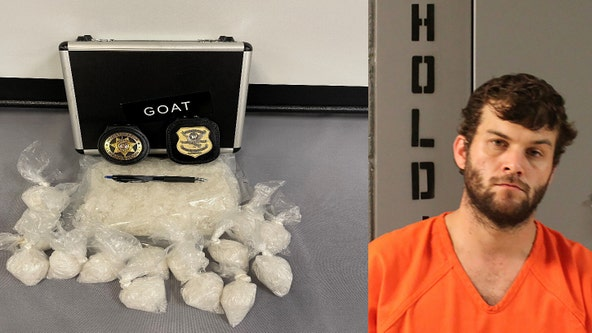 Lumpkin County man caught with 1,600 grams of meth, deputies say
