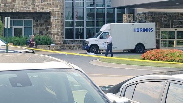 Police investigate shooting involving armored car robbery at Wellstar Cherokee Health Park