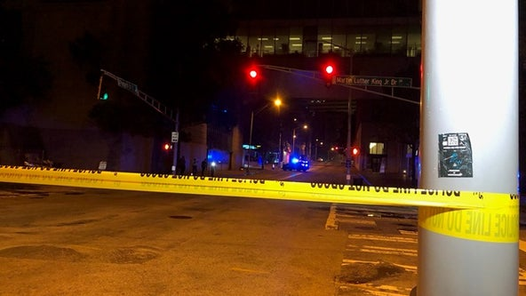 Police: Woman who escaped psychiatric facility shot in Downtown Atlanta