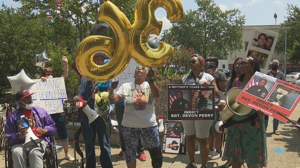 Family of DeKalb County man killed in officer-involved shooting marks his birthday with a rally