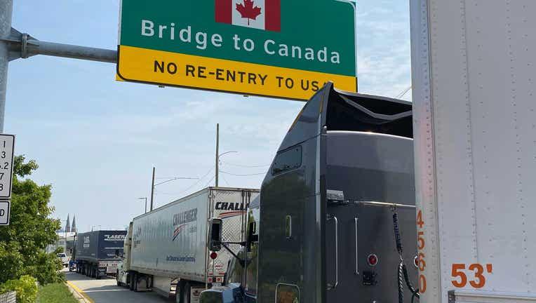 canadian border on 8.6