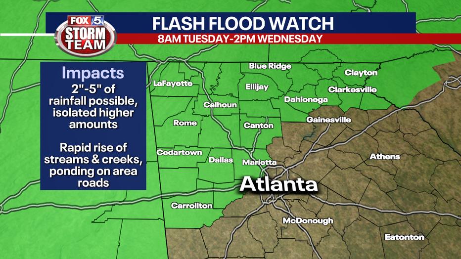 Flash flood watches after ida