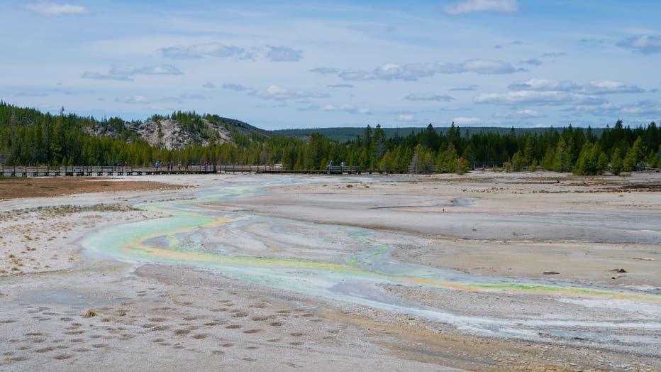 Yellowstone National Park Exteriors And Landmarks - 2021