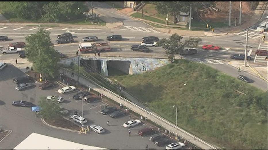 Atlanta Beltline accident