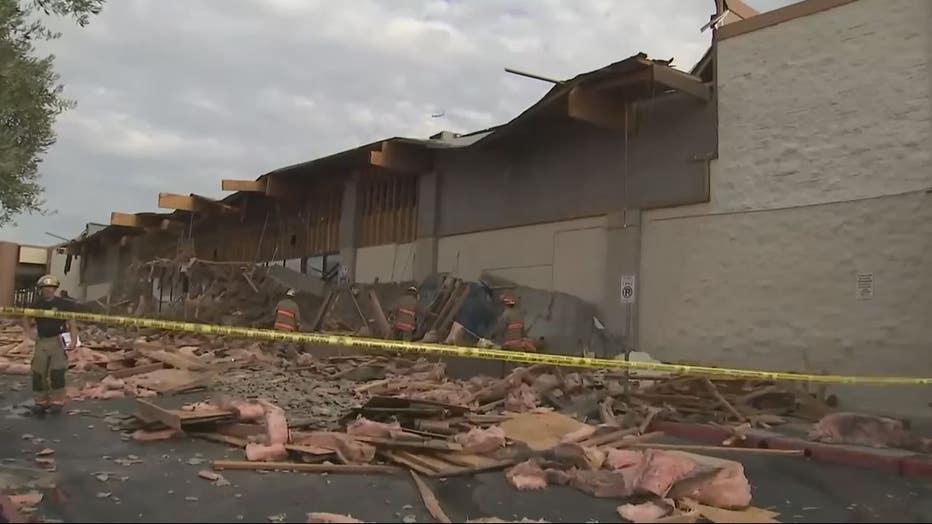 Supermarket collapse
