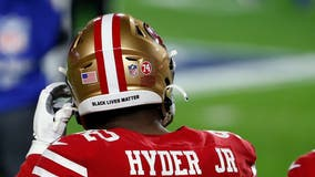 NFL will allow social justice phrases on helmets this season