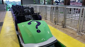 Are you ready for a ride on The RIDDLER Mindbender?